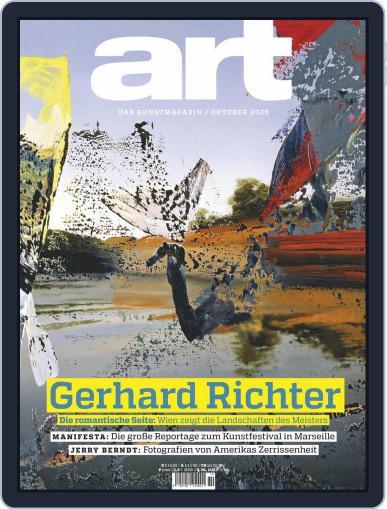 art Magazin (Digital) October 1st, 2020 Issue Cover