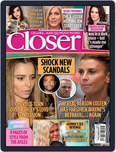 Closer (Digital) October 3rd, 2020 Issue Cover