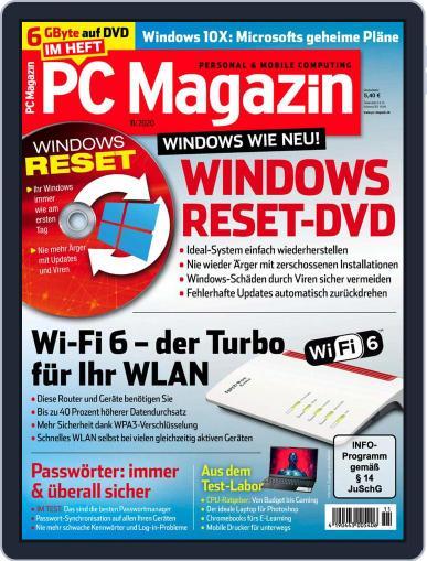 PC Magazin (Digital) November 1st, 2020 Issue Cover