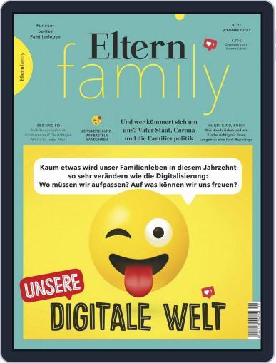 Eltern Family (Digital) November 1st, 2020 Issue Cover