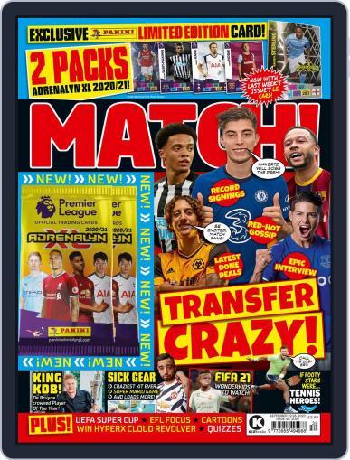 MATCH! September 22nd, 2020 Digital Back Issue Cover