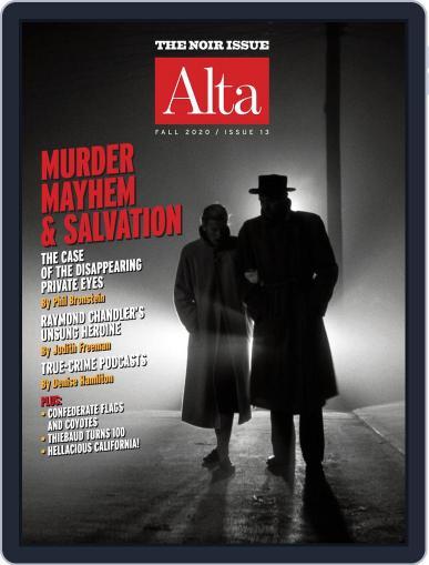 Journal of Alta California (Digital) September 11th, 2020 Issue Cover