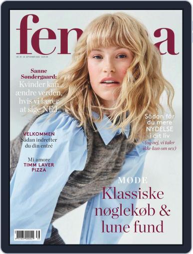 femina Denmark (Digital) September 24th, 2020 Issue Cover