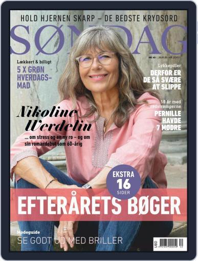 SØNDAG (Digital) September 28th, 2020 Issue Cover