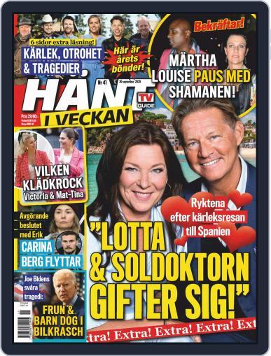 Hänt i Veckan September 30th, 2020 Digital Back Issue Cover