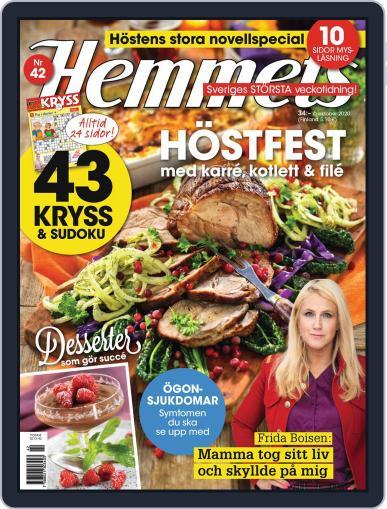 Hemmets Veckotidning October 6th, 2020 Digital Back Issue Cover