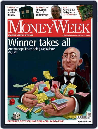 MoneyWeek October 2nd, 2020 Digital Back Issue Cover