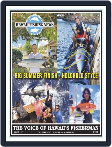 Hawaii Fishing News (Digital) October 1st, 2020 Issue Cover
