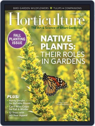 Horticulture (Digital) September 1st, 2020 Issue Cover