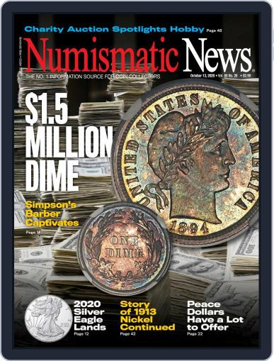 Numismatic News (Digital) October 13th, 2020 Issue Cover