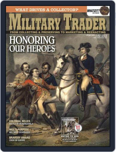 Military Trader October 1st, 2020 Digital Back Issue Cover