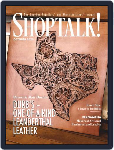 Shop Talk! (Digital) October 1st, 2020 Issue Cover