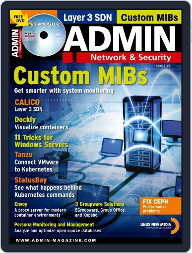 ADMIN Network & Security (Digital) September 1st, 2020 Issue Cover