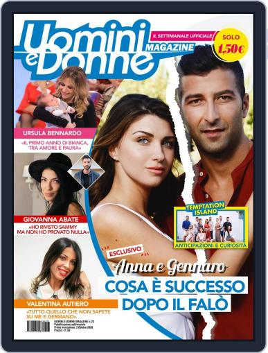 Uomini e Donne (Digital) October 2nd, 2020 Issue Cover