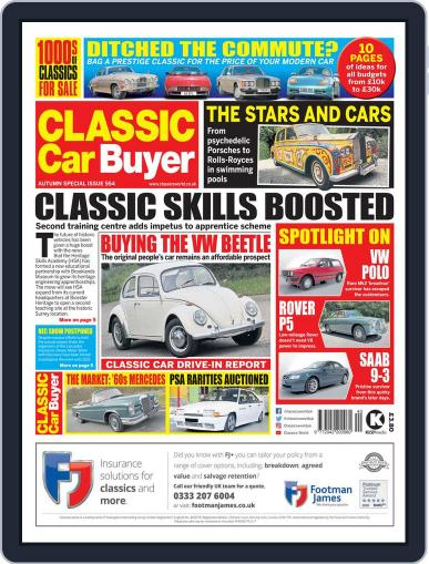 Classic Car Buyer September 30th, 2020 Digital Back Issue Cover