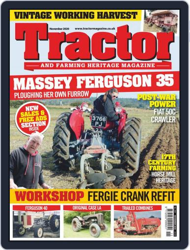 Tractor & Farming Heritage November 1st, 2020 Digital Back Issue Cover
