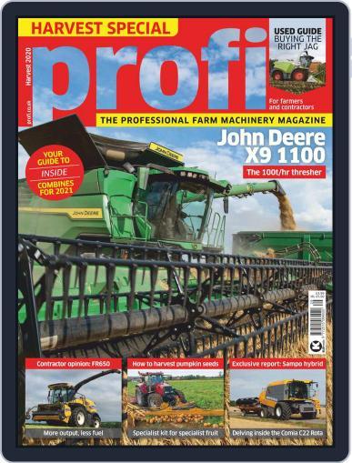 Profi (Digital) September 22nd, 2020 Issue Cover
