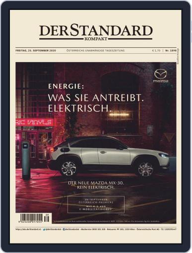 STANDARD Kompakt (Digital) September 25th, 2020 Issue Cover