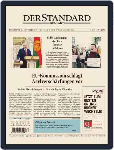 STANDARD Kompakt (Digital) September 24th, 2020 Issue Cover