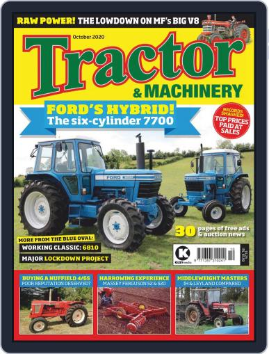 Tractor & Machinery (Digital) October 1st, 2020 Issue Cover
