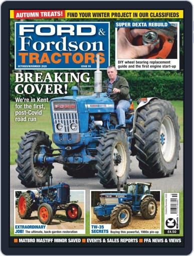 Ford and Fordson Tractors (Digital) October 1st, 2020 Issue Cover