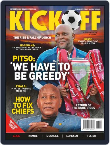Kick Off (Digital) October 1st, 2020 Issue Cover