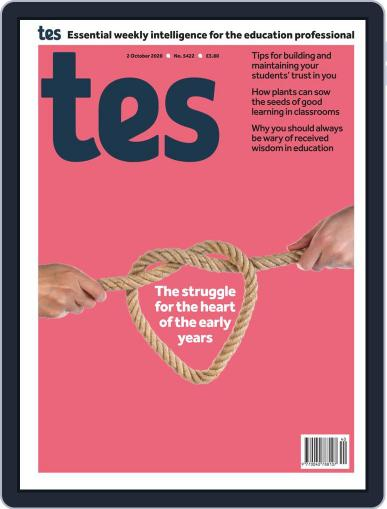 Tes October 2nd, 2020 Digital Back Issue Cover