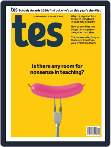 Tes (Digital) September 25th, 2020 Issue Cover