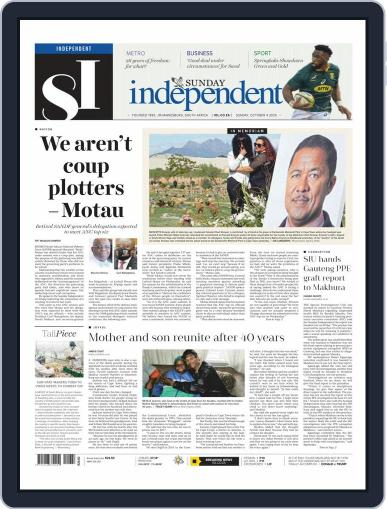 Sunday Independent (Digital) October 4th, 2020 Issue Cover
