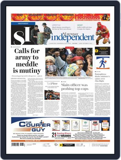 Sunday Independent (Digital) September 27th, 2020 Issue Cover