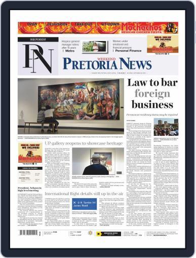 Pretoria News Weekend (Digital) September 26th, 2020 Issue Cover
