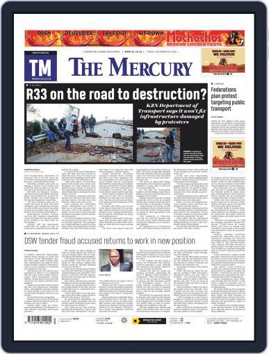 Mercury (Digital) September 25th, 2020 Issue Cover
