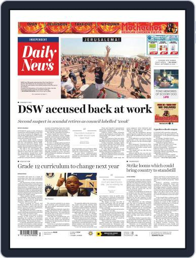 Daily News (Digital) September 25th, 2020 Issue Cover