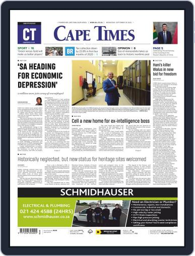 Cape Times September 30th, 2020 Digital Back Issue Cover