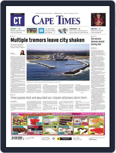 Cape Times September 28th, 2020 Digital Back Issue Cover