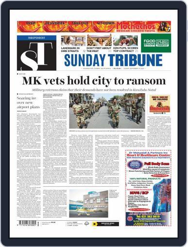 Sunday Tribune September 27th, 2020 Digital Back Issue Cover