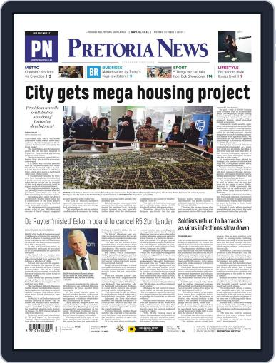 Pretoria News October 5th, 2020 Digital Back Issue Cover