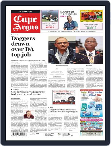 Cape Argus (Digital) October 5th, 2020 Issue Cover