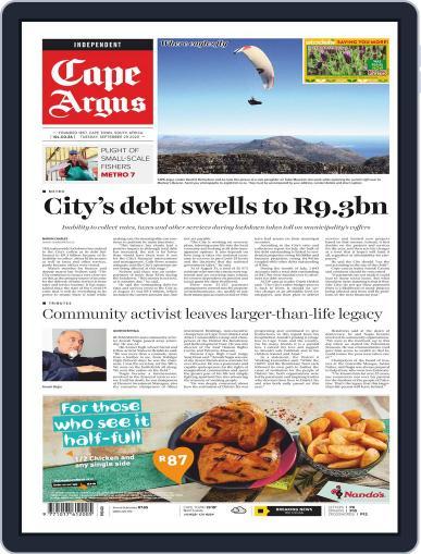 Cape Argus September 29th, 2020 Digital Back Issue Cover