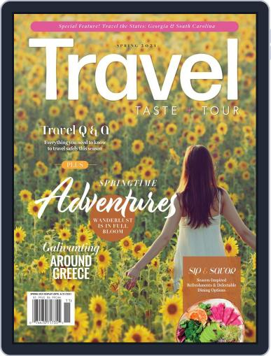 Travel, Taste and Tour Magazine (Digital) March 20th, 2021 Issue Cover