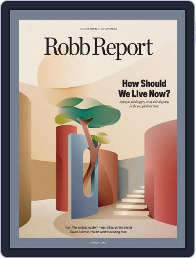 Robb Report (Digital) October 1st, 2020 Issue Cover