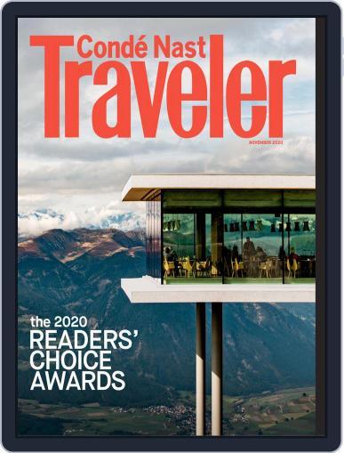 Conde Nast Traveler (Digital) November 1st, 2020 Issue Cover