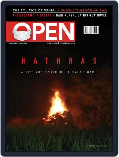 Open India October 9th, 2020 Digital Back Issue Cover