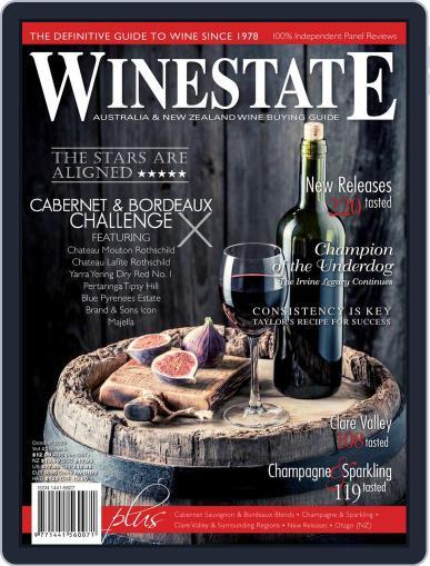 Winestate (Digital) October 1st, 2020 Issue Cover