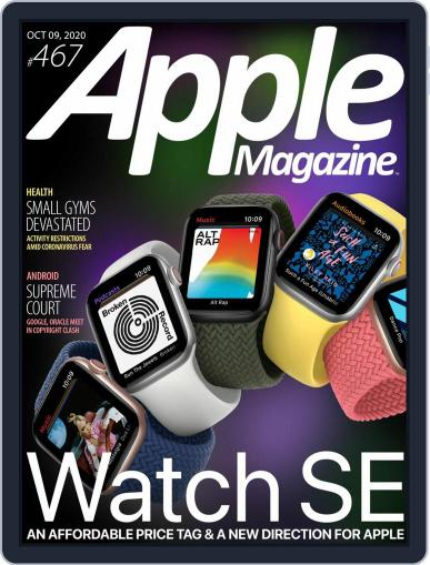AppleMagazine October 9th, 2020 Digital Back Issue Cover