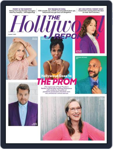 The Hollywood Reporter October 7th, 2020 Digital Back Issue Cover