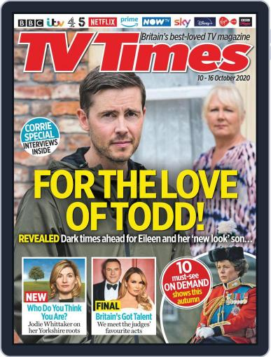 TV Times (Digital) October 10th, 2020 Issue Cover
