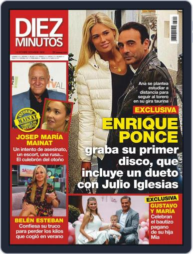 Diez Minutos October 14th, 2020 Digital Back Issue Cover
