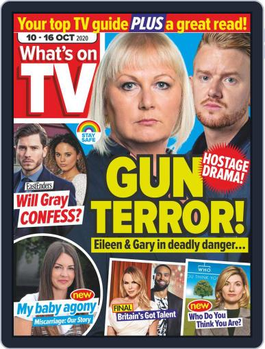 What's on TV October 10th, 2020 Digital Back Issue Cover