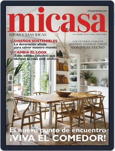 Micasa (Digital) November 1st, 2020 Issue Cover
